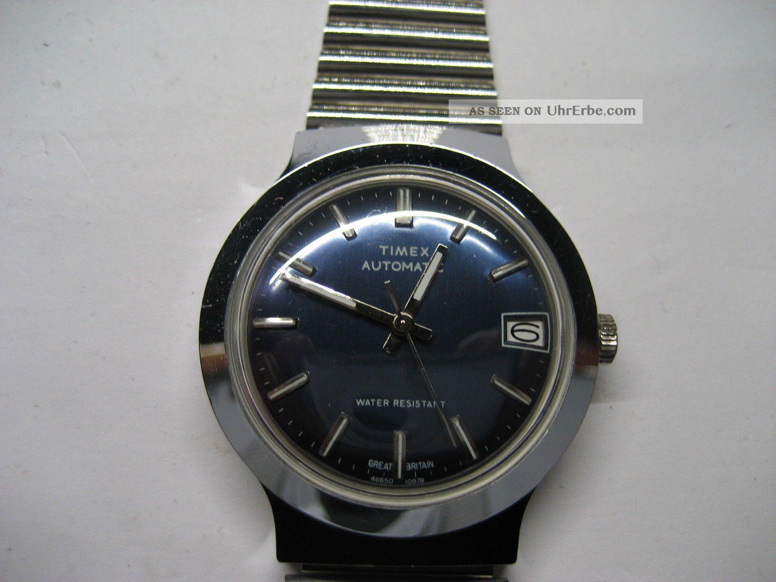 Timex Automatic Herrenarmbanduhr - Wie - Armbanduhren Bild