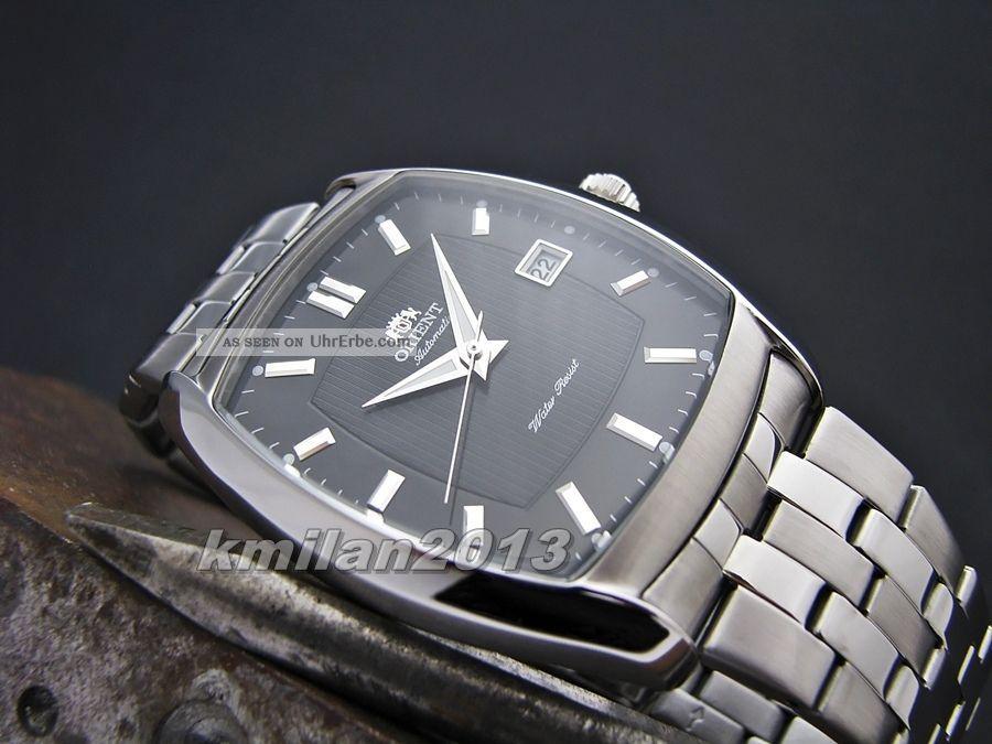 Orient Uhr Classic Automatik Edelstahl Herrenuhr Analog Feras004w0,  Feras003b0 Armbanduhren Bild