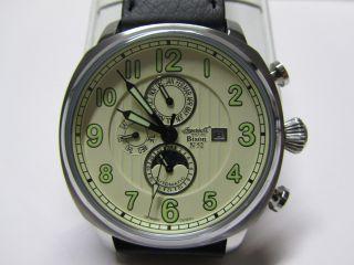Top Ingersoll Bison No.  52 Limited Edition Herren Armbanduhr Ovp Bild
