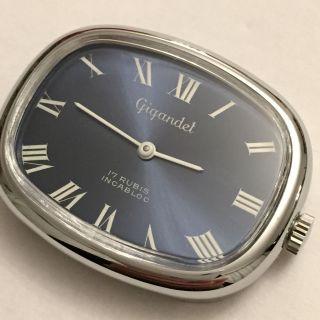 Vintage Gigandet Handaufzug Armbanduhr Um 1960 Schweiz Bild