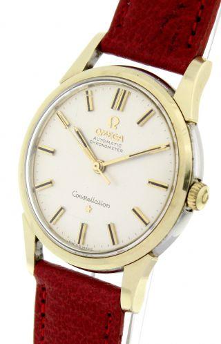 Omega Constellation DoublÈ - Herren - Automatik - Uhr Aus Den 60er Jahren Bild