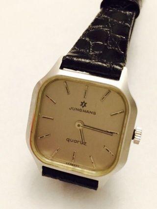 Vintage Junghans Quarz Armbanduhr Deutschland Bild
