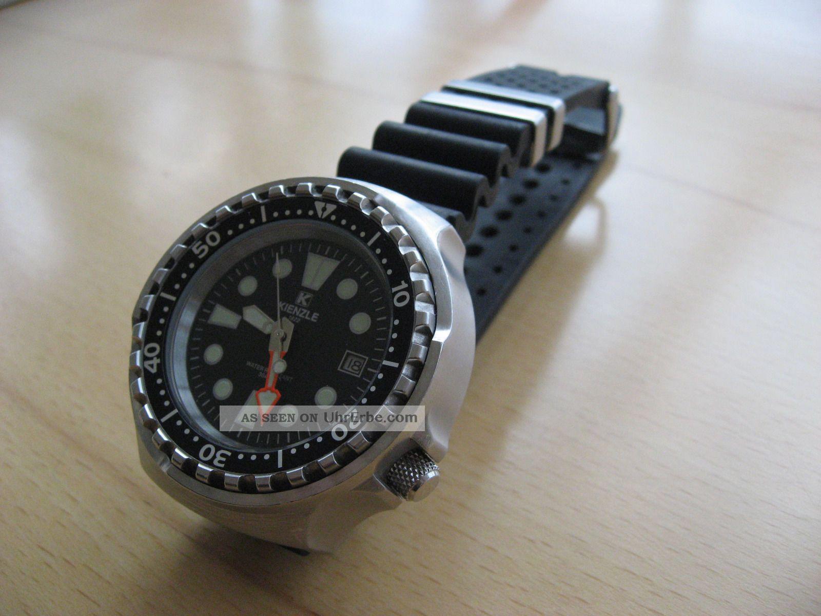 Kienzle Herren Automatik Taucheruhr (2007) Armbanduhren Bild