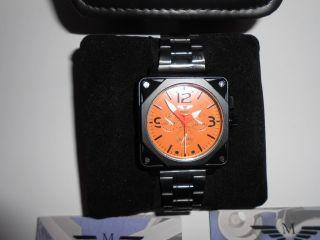 Minoir Uhren Albi Schwarz Edelstahlgehäuse Herrenuhr Automatikuhr Armbanduhr Bild