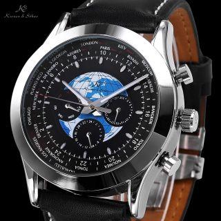 Ks Karte Herrenuhr Automatikuhr Herren Uhr Mechanische Automatik Uhr Armbanduhr Bild