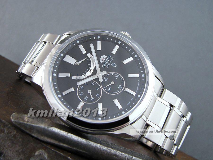 Orient Uhr Automatik Herrenuhr Gangreserve,  Sapphireglas Fez08001b0,  Fez08003w0 Armbanduhren Bild