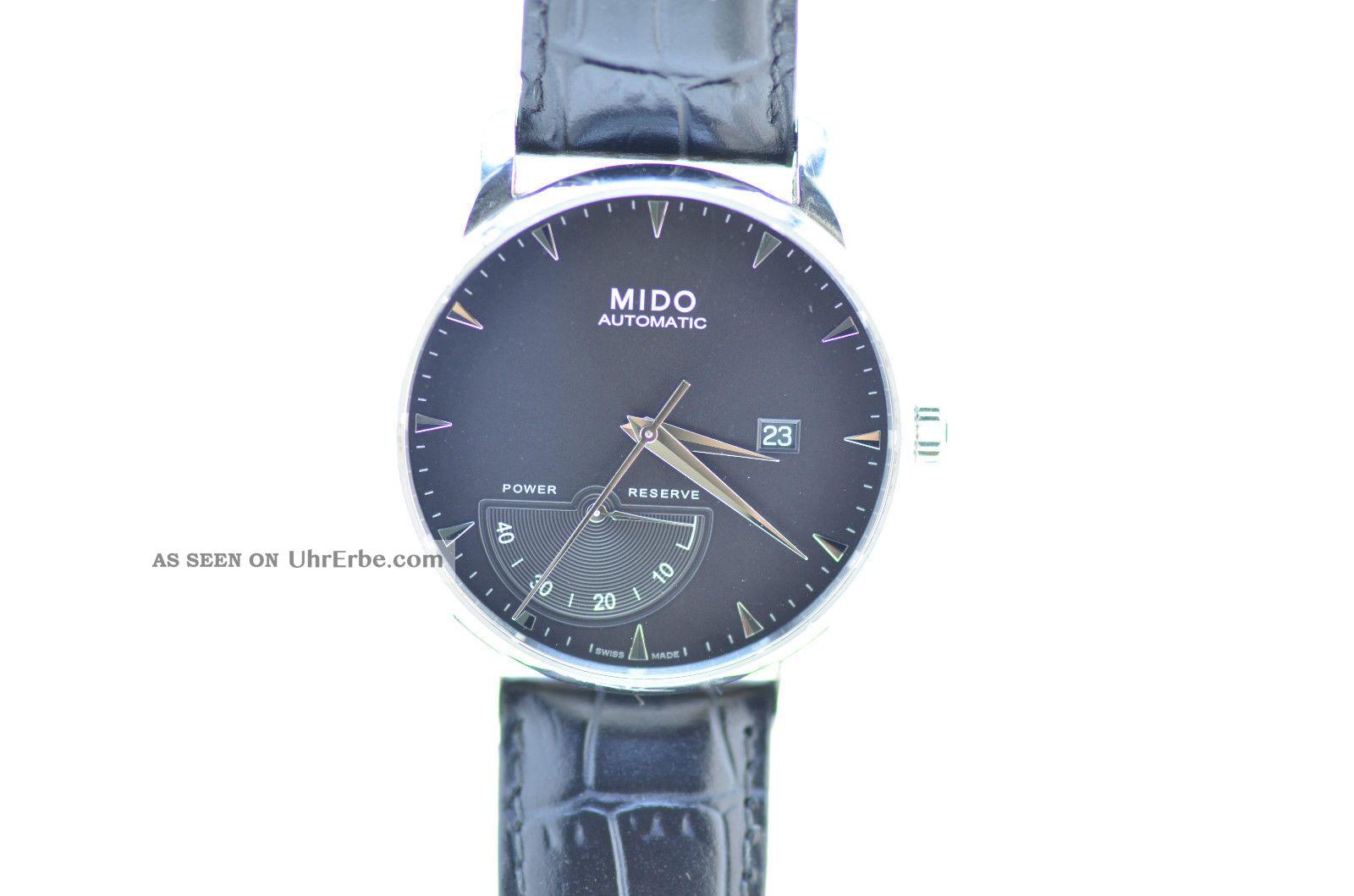 Mido Baroncelli Power Reserve Herrenuhr Automatic Ref.  M8605 A Armbanduhren Bild