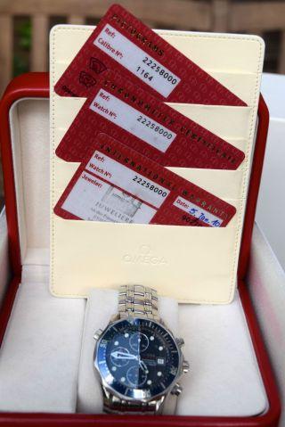 Verkaufe Omega Seamaster Diver 300 M Chronograph 41.  5 Mm Bild