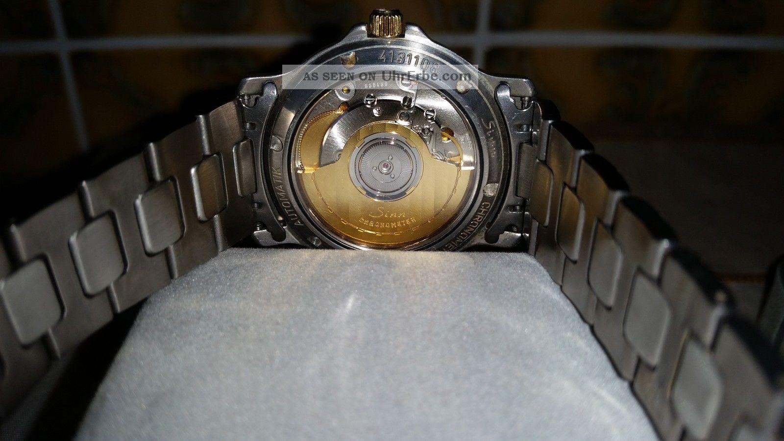 Herren - Armbanduhr Sinn 8826.  Tg.  A Armbanduhren Bild
