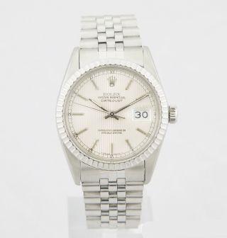 Rolex Datejust In Stahl Ref.  16030 Kaliber 3035 Von Ca.  1984/85 Jubileeband Bild