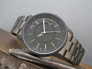 Orient Disk Uhr Automatik Edelstahl Herrenuhr Datumsanzeige Fer02006a0 Bild