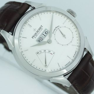 Pequignet Rue Royale Automatik Ø 42mm Manufakturwerk Uhr Ref.  9010233a Cg Bild