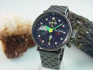 Alain Silberstein Chronograph Mondphase Kalender Limitiert Edition Herrenuhr Bild