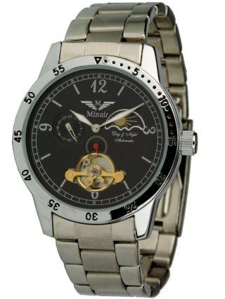 Minoir Uhren - Mistral - Herrenuhr,  Edelstahluhrarmband, Bild