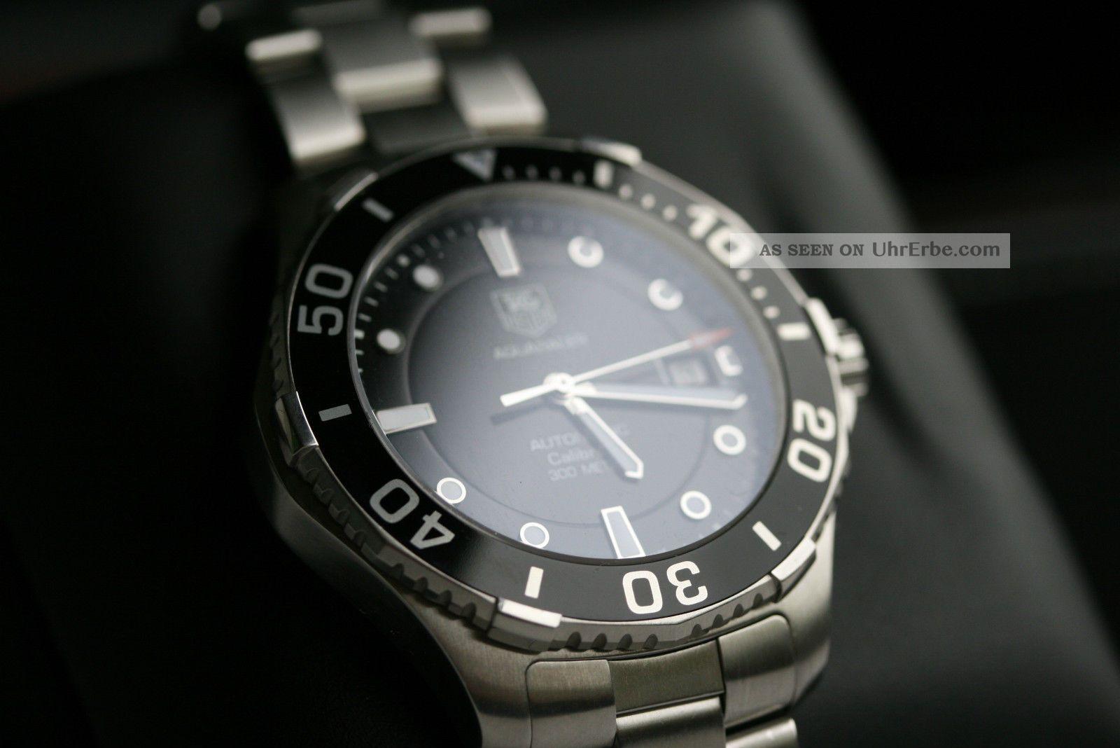 Tag Heuer Aquaracer 300m Taucheruhr Armbanduhren Bild