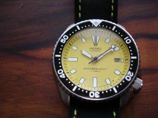 Seiko Scuba Diver's Automatic 7002 – 700j Bild