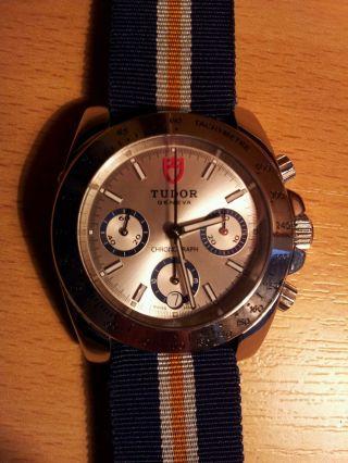 Tudor Ref.  20300 Automatik Chronograph Edelstahl Bild