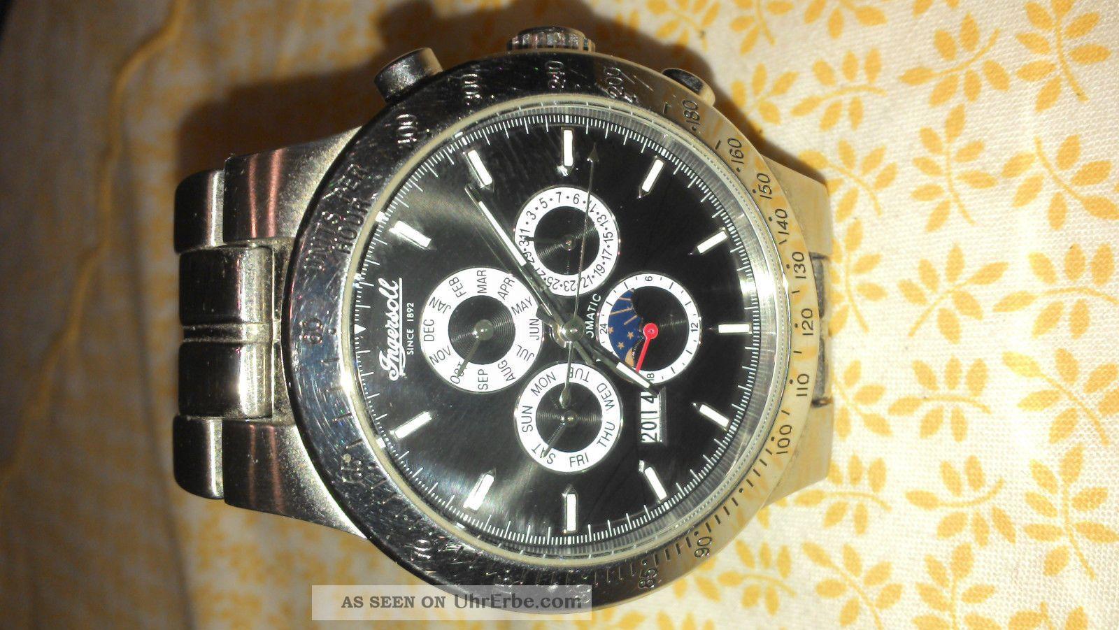 Ingersoll Armbanduhr Delaware In - 3200 - Bk Armbanduhren Bild