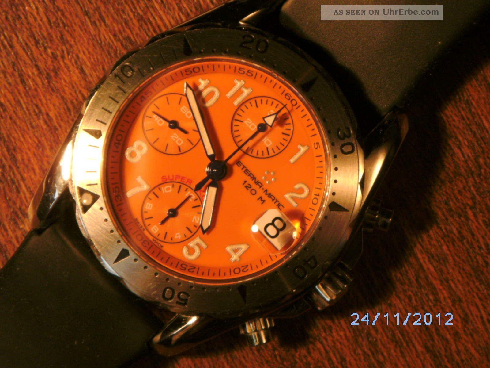 Eterna Kontiki Chronograph Armbanduhren Bild