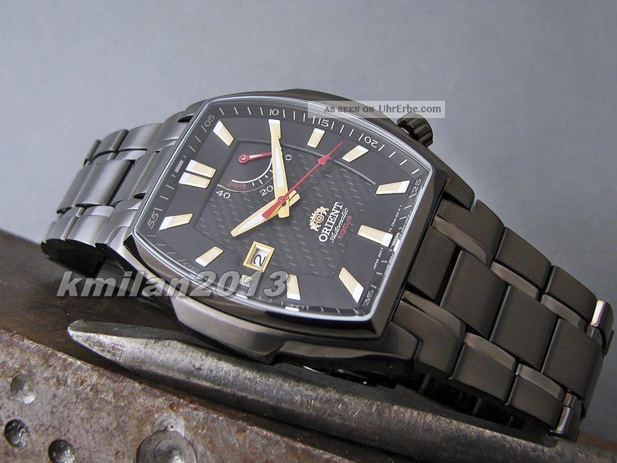 Orient Uhr Automatisch Herrenuhr Wr: 100 M,  Gangreserve Ffdag002b0,  Ffdag004b0 Armbanduhren Bild