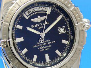 Breitling Headwind Automatik Chronometer Day Date Stahl A45355 Bild