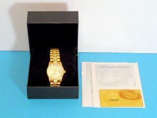 Schöne Lobor Madras - Wertvolle Automatik - Uhr In Orient - Optik - 443 In Ovp Bild