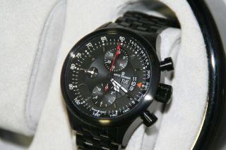 Revue Thommen Pilotenchronograph Valjoux 7750 Eta Werk Neuwertig 1 Bild