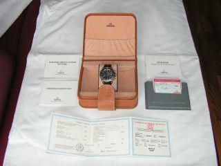 Omega Seamaster Professional Chronograph,  18k Gold,  Box U.  Papiere Bild