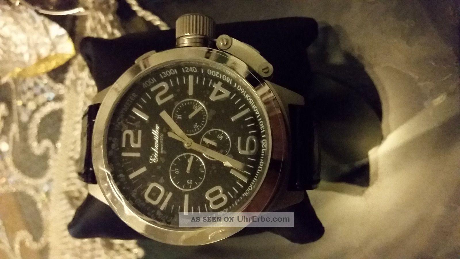 Eichmüller 7821 Xxl Automatik Uhr Armbanduhren Bild