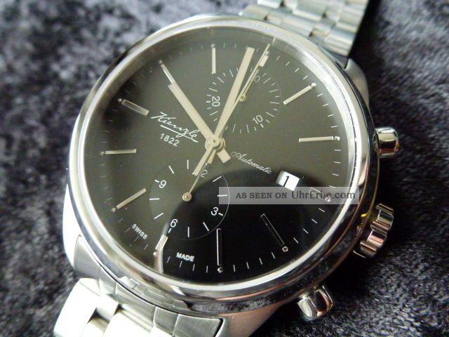 Kienzle Automatik Chronograph Portugieser Stil Mit Eta Valjoux 7750 Armbanduhren Bild
