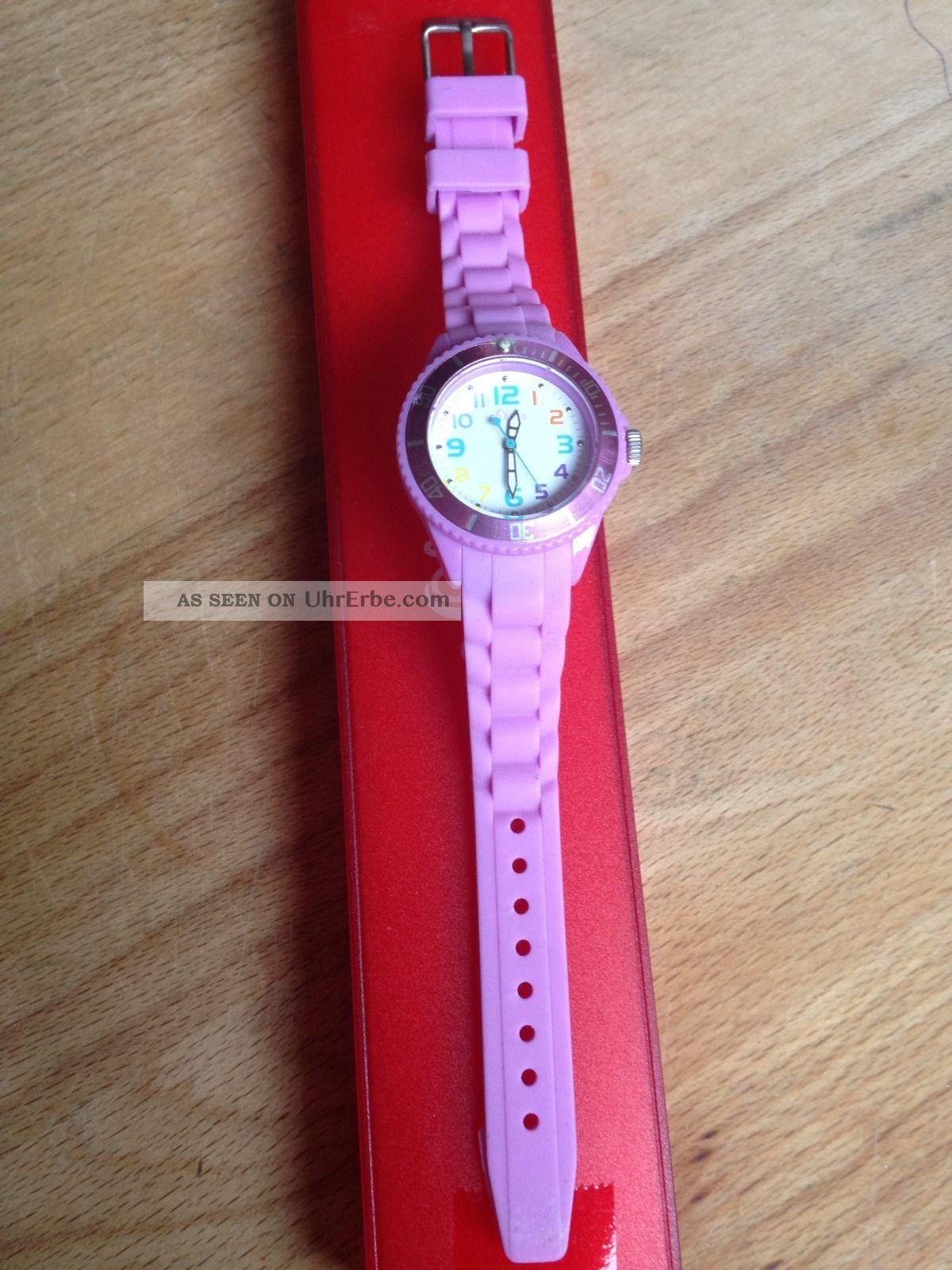 S.  Oliver Mädchen/damenuhr Silikon Armbanduhren Bild
