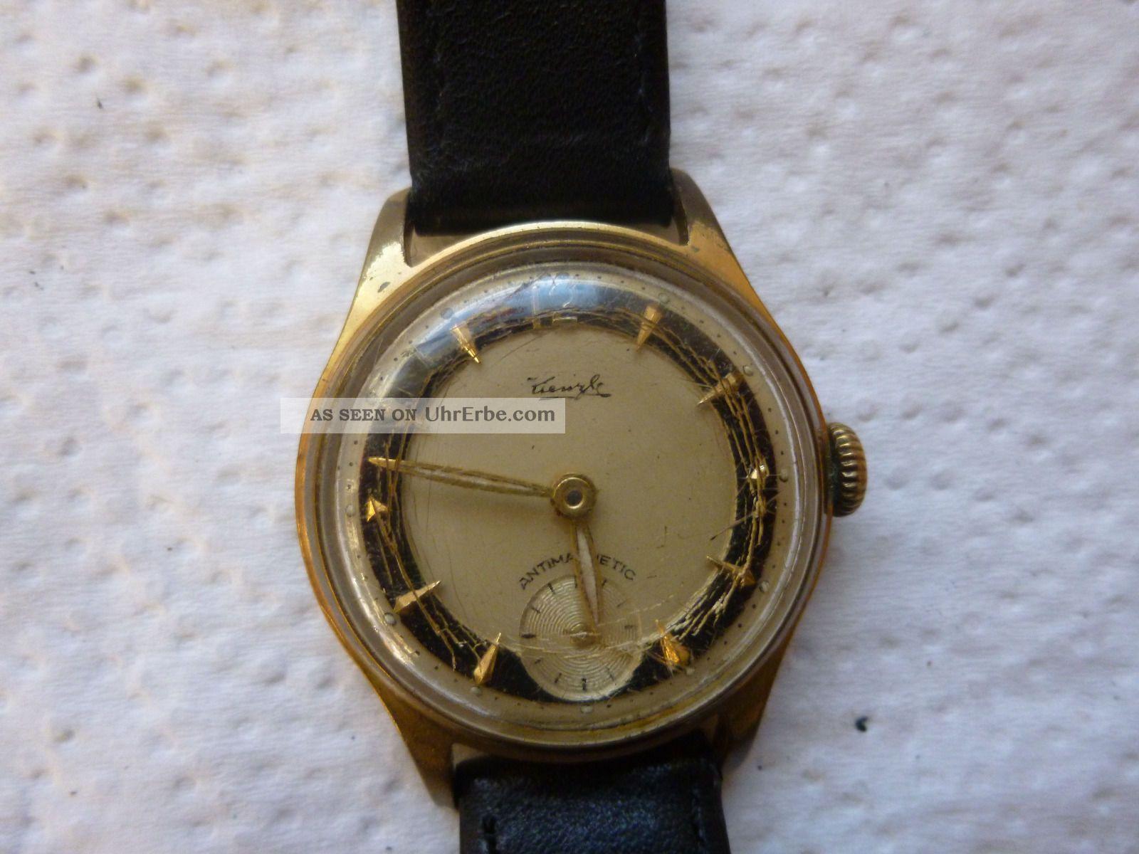 Armbanduhr Aus Papas Sammlung Nr.  16 Kienzle Funktion Mindes 12 Stunden Armbanduhren Bild