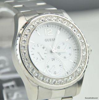 Uhr Guess Silber Edelstahl Damen Neuf U11052l1 Deu Bild