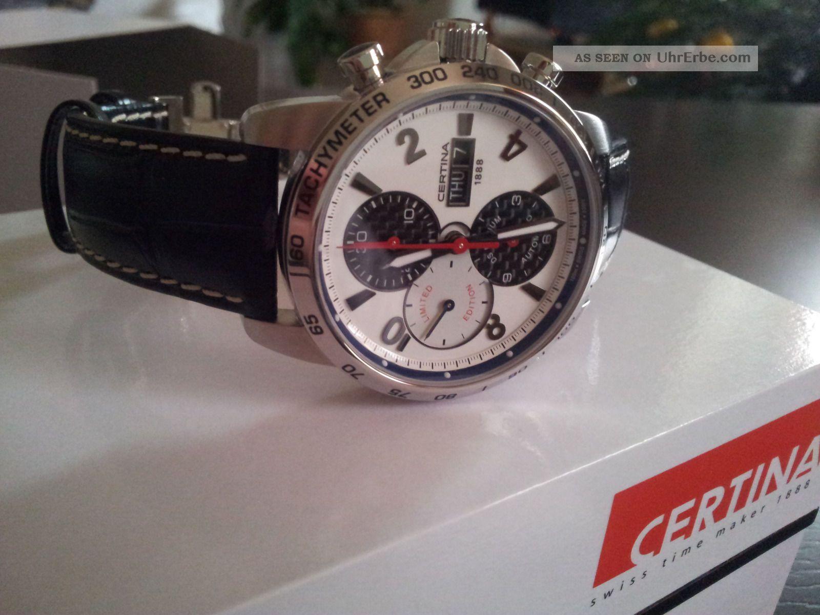 Certina Bmw Sauber Limited Edition Ungetragen Armbanduhren Bild