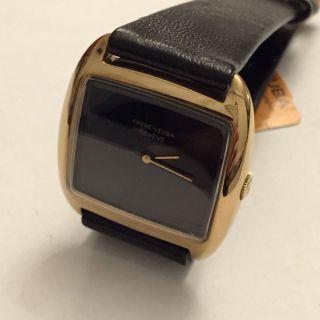 Vintage Favre Leuba Geneve Armbanduhr Handaufzug Vergoldet Schweiz Um 1960 Bild