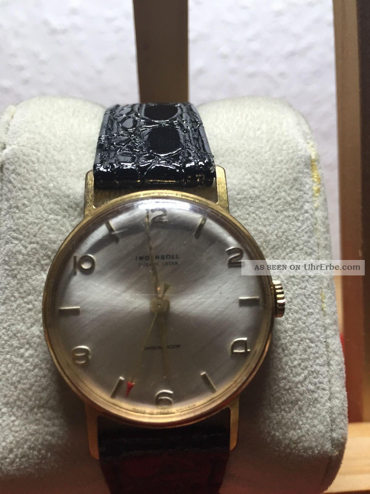 Ingersoll Handaufzug Aus Den 60ern Armbanduhren Bild