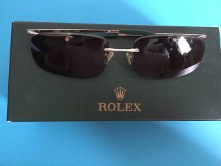 Rolex Limited Edition Weiss Gold Brille Bild