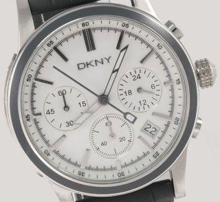 Dkny Donna Karan York Damenuhr / Damen Uhr Chronograph Datum Grau Ny8175 Bild