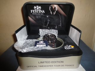 Festina Uhr Limited Edition Bike Rad Tour De France Chrono 2014 16776 F16776/1 Bild