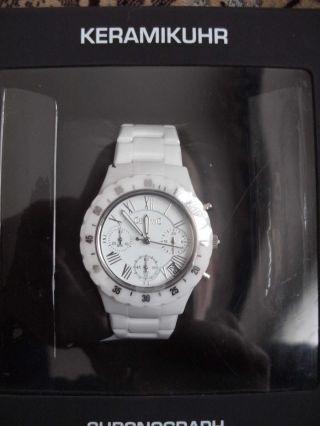 Sempre Armbanduhr Keramik Chronograph Herren - Frauen Bild