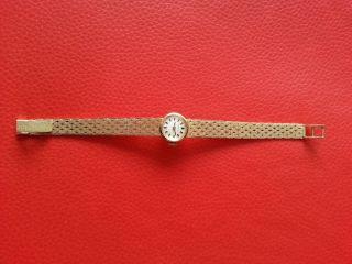 Bifora Damen Armbanduhr,  585 Gold Bild