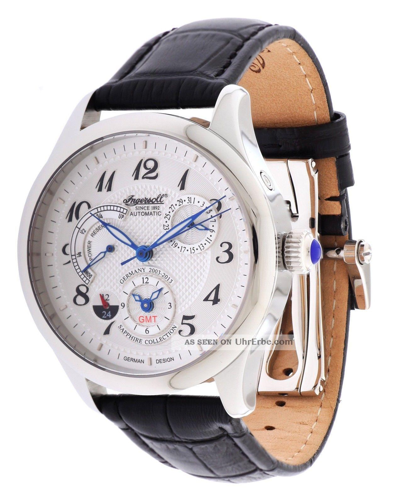 Ingersoll Herren Armbanduhr Sam Limited Edition Schwarz In8410wh Armbanduhren Bild