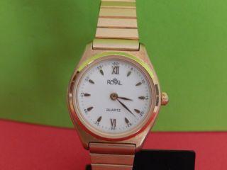 Damen Uhr Royal Quartz Große 24 Mm. Bild