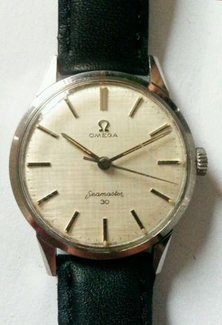 Omega Seamaster 30 Armbanduhr Bild