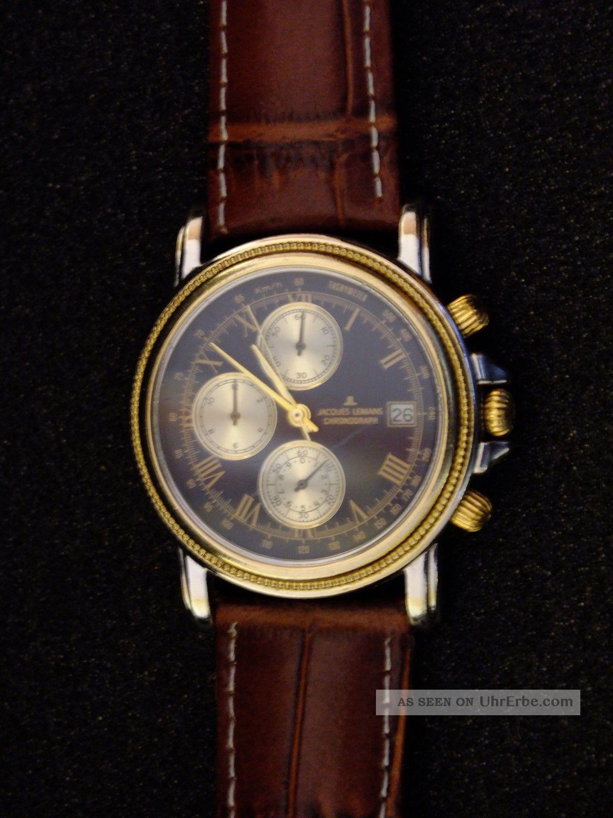 Jasques Lemans Chronograph Armbanduhren Bild