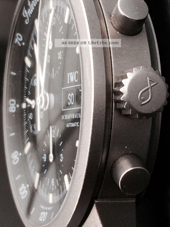 Iwc Gst Chronograph Titan Ref.  Nr.  3707 Armbanduhren Bild