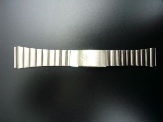 Junghans - Uhrenarmband - Stahl - Bandanstoß 20mm - Länge Ca.  15cm. Bild