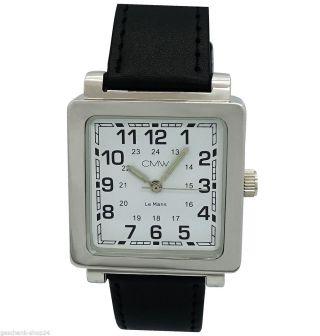 Herren Mechanisch Edelstahl Automatik Leder Armband Uhr Sonderposten Ar.  2 Bild