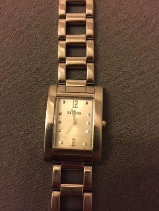 S.  Oliver Soliver Armbanduhr Uhr Silber Steel Damenuhr Damen Bild