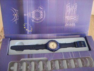 Swatch Special Euroconverter Sdz103 Ungetragen Batterie Bild
